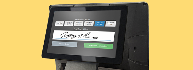 7 Practical Ways a POS with a Touchscreen Customer Facing Display Can Benefit Your Counter Service Restaurant